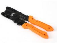 エンジニア株式会社PAD-11のオープンバレルハンディ圧着工具
