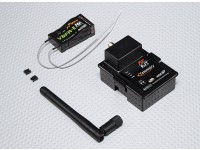 JRワット/テレメトリモジュール&V8FR-II RX用FrSky DJT 2.4GHzのコンボパック