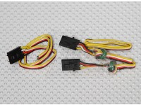 Hobbyking OSDはワイヤーセットを接続します