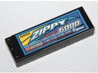 ジッピー6000mah 2S2P 50Cハードケースパック