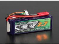 Turnigyナノテクノロジー2700mah 6S 65〜130℃リポパック