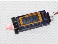 HobbyKing™Cellmeter-6リポ/ライフ/リチウムイオン電池チェッカー&アラーム