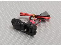 充電ポート・燃料ドットブラックとヘビーデューティRXスイッチ