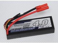 Turnigy 4000mAh 2S 30Cのハードケースパック(ROARはAPPROVED)(DE倉庫)