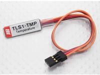 XGシリーズ2.4GHzのDMSSトランスミッタ用のJR TLS1-TMPテレメトリ温度センサー
