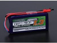 Turnigyナノテクノロジー1300mAh 2S1P 20〜40Cリポレシーバーパック