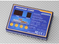 HobbyKingボートESCのプログラミングカード