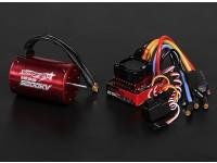 Turnigy TrackStar防水1/10ブラシレスパワーシステム5200KV / 80A