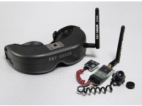 FatShark PredatorV2 RTF FPVヘッドセットシステムワット/カメラと5.8G TX