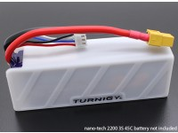 Turnigyソフトシリコンリポバッテリープロテクター(1600-2200mah 3S-4Sホワイト)