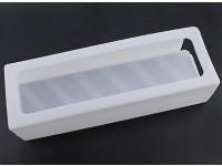 Turnigyソフトシリコンリポバッテリープロテクター(3600-5000mAh 5Sホワイト)155x52x38.5mm