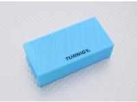 Turnigyソフトシリコンリポバッテリープロテクター(1000-1300mAh 3Sブルー)74x36x21mm