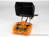 ユニバーサルカーボンFPVモニターするために送信機マウントシステム
