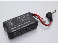 Fatshark FPV  - バナナチャージリード/ Wヘッドセットのバッテリー7.4Vの1000mAhの