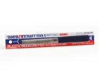 タミヤのプラスチックモデルファイル(ハーフラウンド15ミリメートル)