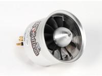 博士マッドは推力70ミリメートル11-ブレード合金EDF 1900kvモーター -  1900ワット(6S)(カウンター回転)