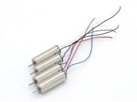 X-DART屋内屋外マイクロクアッドコプター用の交換モーターセット(4PC)