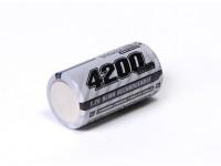 Turnigy充電式サブC 4200mAh 1.2V NiMHのハイパワーシリーズ