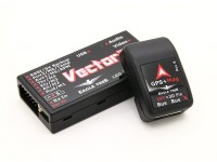 EagleTreeベクトルフライトコントローラワットOSD、GPSおよびPSUセンサー/