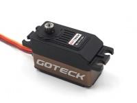 Goteck BL1511SデジタルブラシレスMG高トルクロープロファイルカーサーボ45グラム/ 12キロ/ 0.07sec