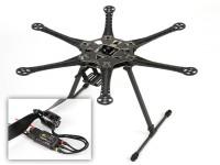 HobbyKing™S550 Hexcopterコンボ(フレーム、ESCのとモーターズ)(ARF)