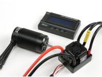 HobbyKing®™X-カー獣シリーズモーターと150A ESCコンボ1/8スケール