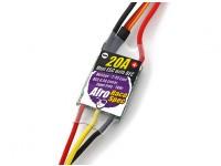 BECとアフロのレーススペックミニ20Ampマルチロータースピードコントローラ