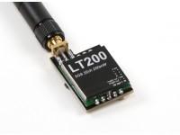 LT200 5.8GHz帯200mWの32チャンネルFPV A / Vトランスミッター