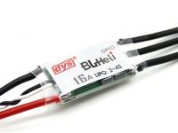 DYS 16AmpマイクロオプトBLHeliマルチロータースピードコントローラー(BLHeliファームウェア)SN16A