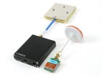 リーバー5.8G FPVオーディオ/ビデオRXと350MW TXパッケージ