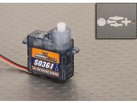 ホビーキングS0361 3.6グラム/ 0.45キロ/ .12secマイクロサーボ
