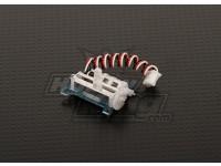 3Dフライト用の超小型サーボ1.7グラムをHobbyKing(左)