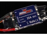 HobbyKing 20A BlueSeriesブラシレススピードコントローラー