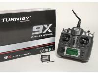 Turnigy 9X 9CHトランスミッターワット/モジュール&8chのレシーバー(モード1)(V2ファームウェア)