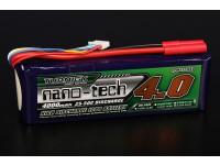 Turnigyナノテクノロジー4000mah 5S 25〜50Cリポパック