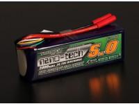 Turnigyナノテクノロジー5000mAに5S 35〜70Cリポパック