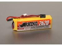Rhinoの2620mAh 3S 11.1V低放電トランスミッタLipolyパック
