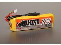 Rhinoの並列無しの3700mAh 3S 11.1V 25C Lipolyパック
