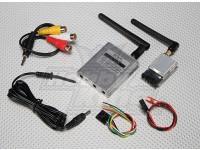 SkyZone 5.8GHz帯200mWのFPVワイヤレスAVのTx&Rxのセット