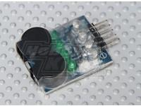 HobbyKing™Lipoly低電圧アラーム(2S〜4S)