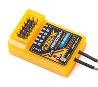 2.4GHz帯FASST互換6CH受信機サイズ:35.5x23.3x12.7mm