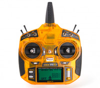 OrangeRx Tx6i Full Range 2.4GHz DSMX Compatible 6ch Radio System (Mode 1) EU/UK Version front view