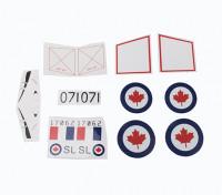 Durafly™ D.H.100 Vampire V2 RCAF - Sticker Set