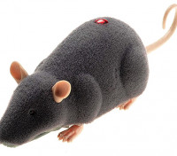 Infrared 2-Way Remote Control Gray Mouse