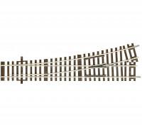 RocoLine HO Lefthand Turnout WI 15 (230mm)