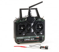 Turnigy T6A-V2 AFHDS 2.4Ghz 6Ch Transmitter w/Receiver V2 (Mode 1) - with receiver