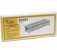 Micro Engineering HO Scale 30ft Open Deck Girder Bridge Kit (70-502)