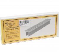 Micro Engineering N Scale 80ft Ballasted Deck Girder Bridge Kit (75-152)