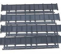 Micro Engineering HO Scale 50ft Plate Girder Bridge Kit 4pcs (80-166)