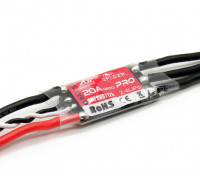 ZTWスパイダーPROシリーズ20A 2〜4S F330のの48MHz ESC(BLHELIファームウェア)